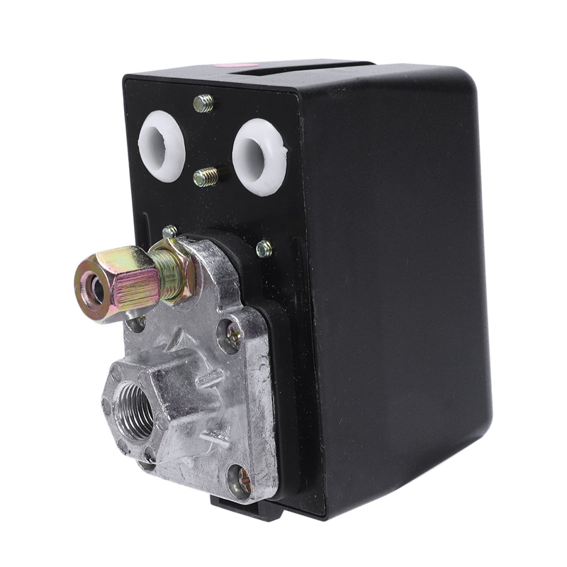 3-Phase 230V 400V 16A Pressure Switch For Compressor Air Compressors Switch Control 130-170 Psi Home Tools