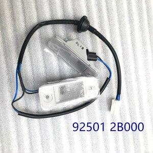 Image 1 - Trunk lİsansli lamba Assy 925012B000 Hyundai Santa Fe 2006 2012 için 925012B000 92501 2B000