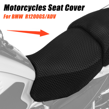 Motorcycle Accessories Protecting Cushion Seat Cover For BMW R1200GS R 1200 GS LC ADV Adventure Nylon Fabric Saddle Seat Cover