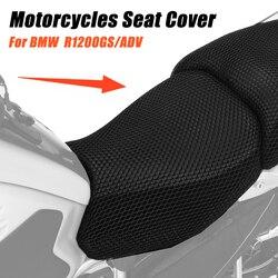 Akcesoria motocyklowe ochrona poduszka do siedzenia pokrowiec na BMW R1200GS R 1200 GS LC ADV przygoda z nylonu siodełko pokrywa
