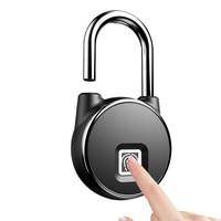 Anti Theft Waterproof Keyless Smart Bluetooth Lock Biometric Fingerprint Padlock Door Lock Home Gym Office Backpack