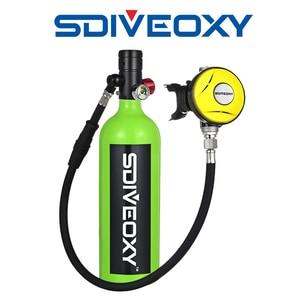SDIVEOXY diving oxygen tank diving equipment underwater respirator scuba diving equipment small oxygen tank diving oxygen tank(China)