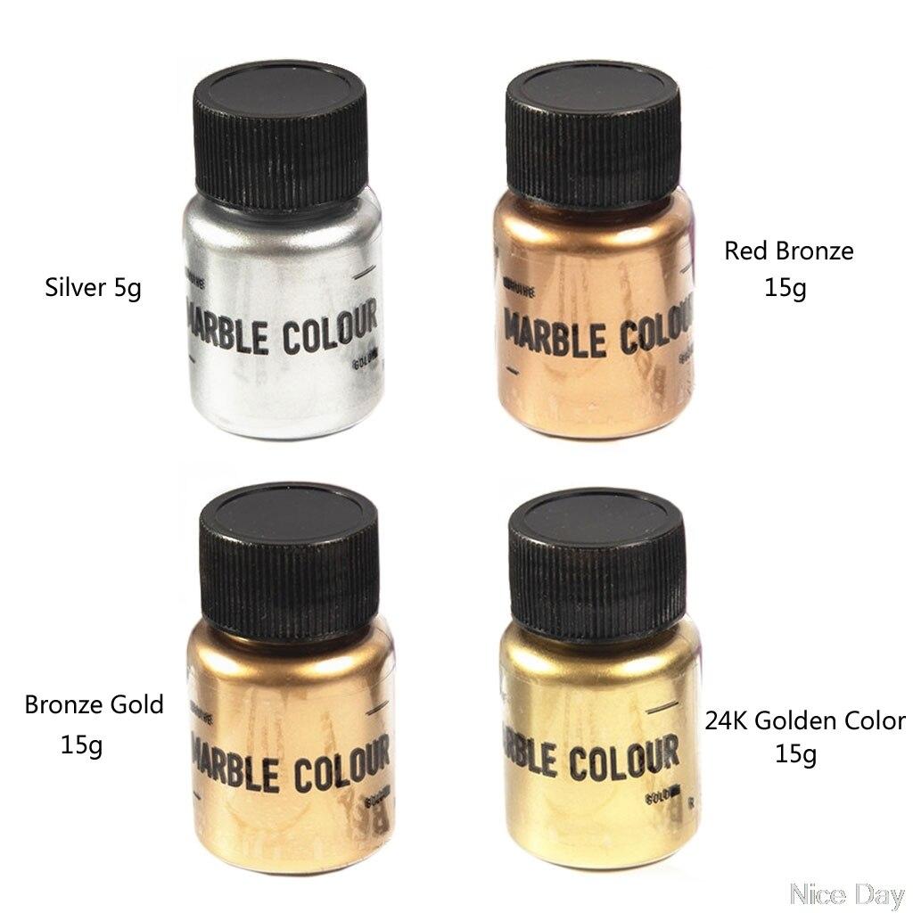 15g Mirror Metal Texture Pearl Powder Epoxy Resin Colorant Glitter Marble Metallic Pigment Resin Dye Making A29 20 Dropship