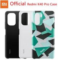 Funda protectora oficial para Xiaomi Redmi K40 Pro, carcasa protectora de silicona líquida, Camuflaje, serie K40 Pro