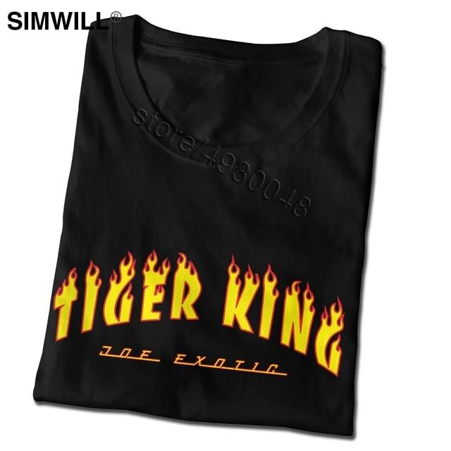 Tiger King Joe Exotic Tee Men Short Sleeve O-neck Election For President T Shirt Fashion Brand Streetwear T-shirt Apparel Gift 3