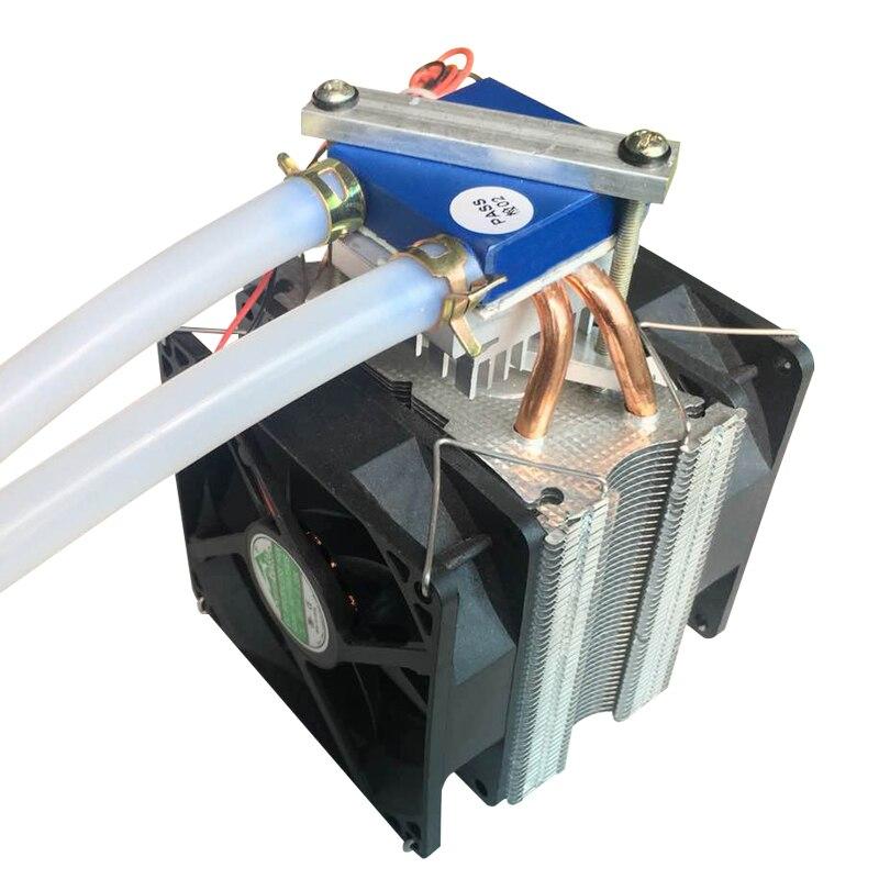 Небольшой охладитель полупроводниковое охлаждение микросхема компьютерный водяной охлажденный радиатор циркуляция воды в пределах 15л дл