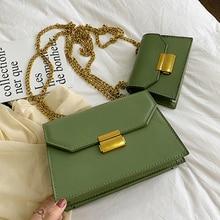Fashion Small Flap Bag Women Chic Chain Shoulder Messenger Bags Casual Women Handbags Lock Chain Shoulder Messenger Bags Purses