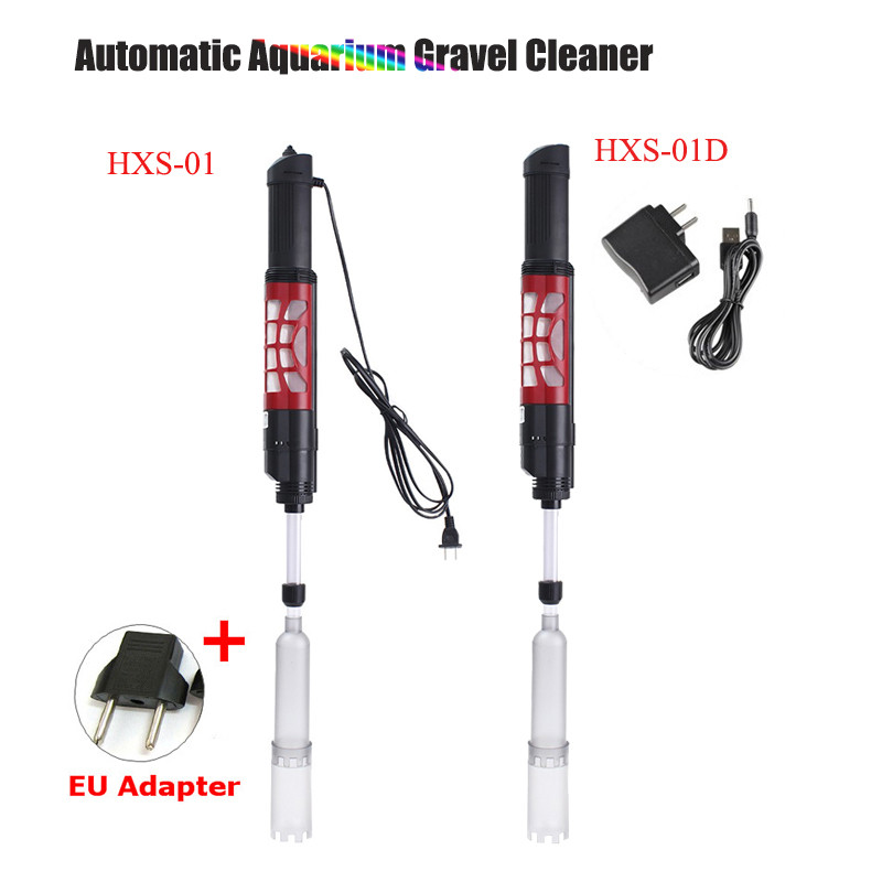 Automatic Aquarium Gravel Cleaner Electric Water Filter Washer Siphon Vacuum Water Changer Pump for Fish Tank01