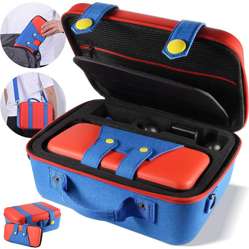 2 In 1 Eva Storage for Nintendo Switch Bag Game Console for NS Host Accessories Pack