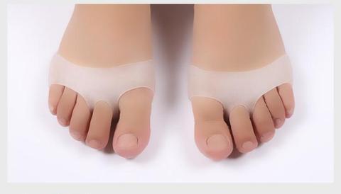 almofadas macias respiraveis celulares do dedo