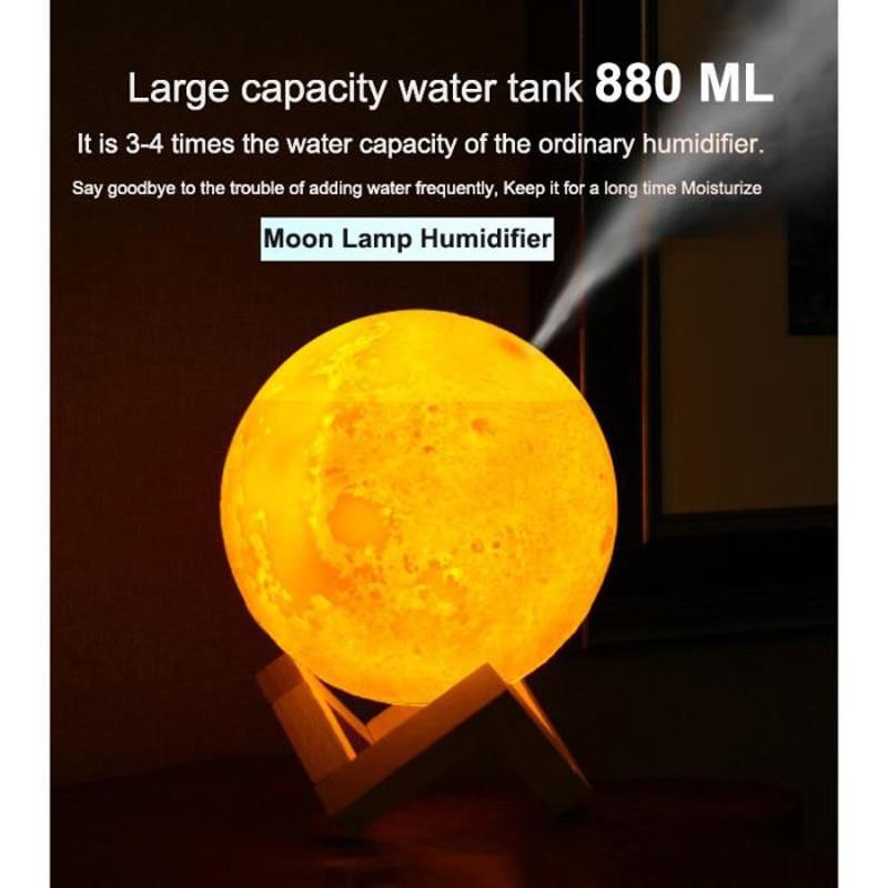 ELOOLE 880ml Aroma Humidifier Air Mist Humidifier
