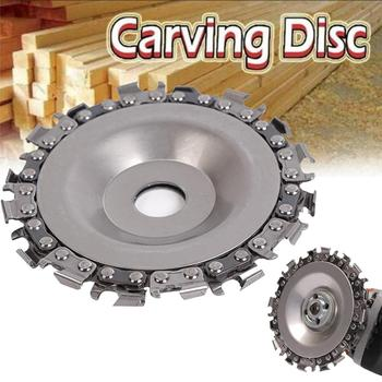 Wood Carving Disc Woodworking Chain Grinder Chain Saws Disc Chain Plate Tool for 102MM Angle Grinding  4 inch tool tool lateralus 2 lp picture disc