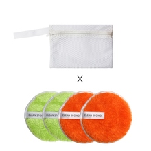 Cleansing Sponge Makeup Remover Puff Soft Comfortable Cosmetic puff Washable Exfoliating