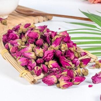 Чайный бутон с цветком, розовый, Pingyin, бутон с розами, сухой, заваренный, косметический, 100 г