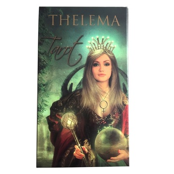 Hot Selling Palying Cards For Party Game  78 Pcs Thelema Tarot  Cards Board Deck Games