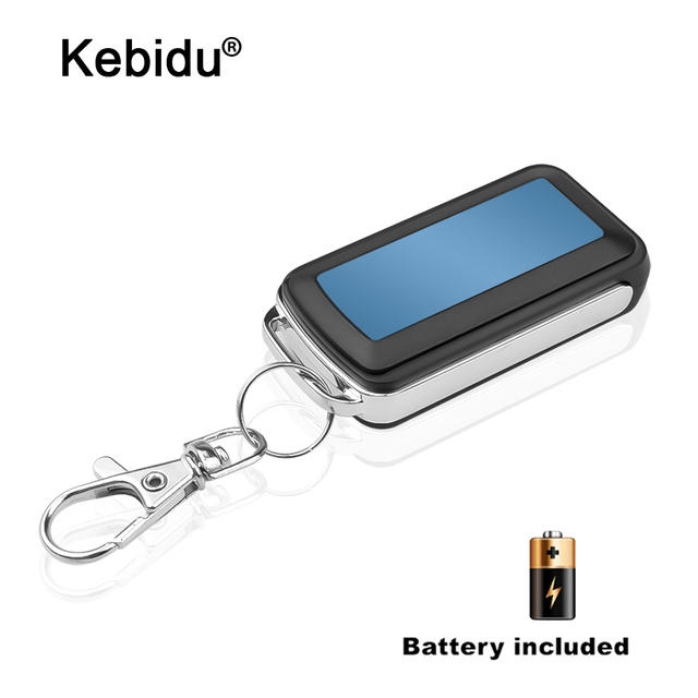 Kebidu 4ปุ่มCloningรีโมทคอนโทรลไฟฟ้าCopy Controllerเครื่องส่งสัญญาณไร้สายMiniสวิทช์Fob 433MHz