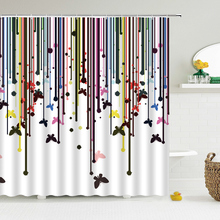 Flowers Tree Pattern Shower Curtains Waterproof Polyester Bath Screen Curtain ,Home Decoration Bathroom Printed Shower Curtain waterproof floral tree of life shower curtain