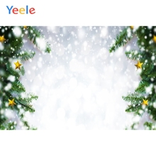 Yeele Christmas Photocall Bokeh Winter Gold Stars Photography Backdrop Personalized Photographic Backgrounds For Photo Studio