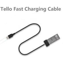 Cable de carga de batería para DJI TELLO, puerto de Cable USB, Cargador rápido, accesorios para Dron