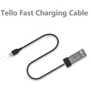 Image 1 - DJI TELLO Pil şarj kablosu Için DJI TELLO USB kablosu Portu Pil Hızlı şarj aleti kablosu Drone Aksesuarları