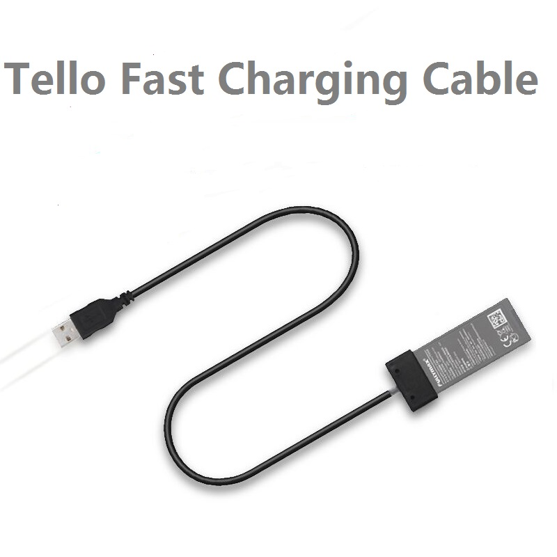 FOR DJI TELLO Battery Charging Cable For DJI TELLO USB Cable Port Battery Fast Charger Cable Drone Accessories