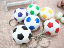 hot Sports Keychain Car Key Chain Fashion Key Ring Football Basketball Golf Ball Pendant Keyring For Favorite Sportsman's Gift(China)