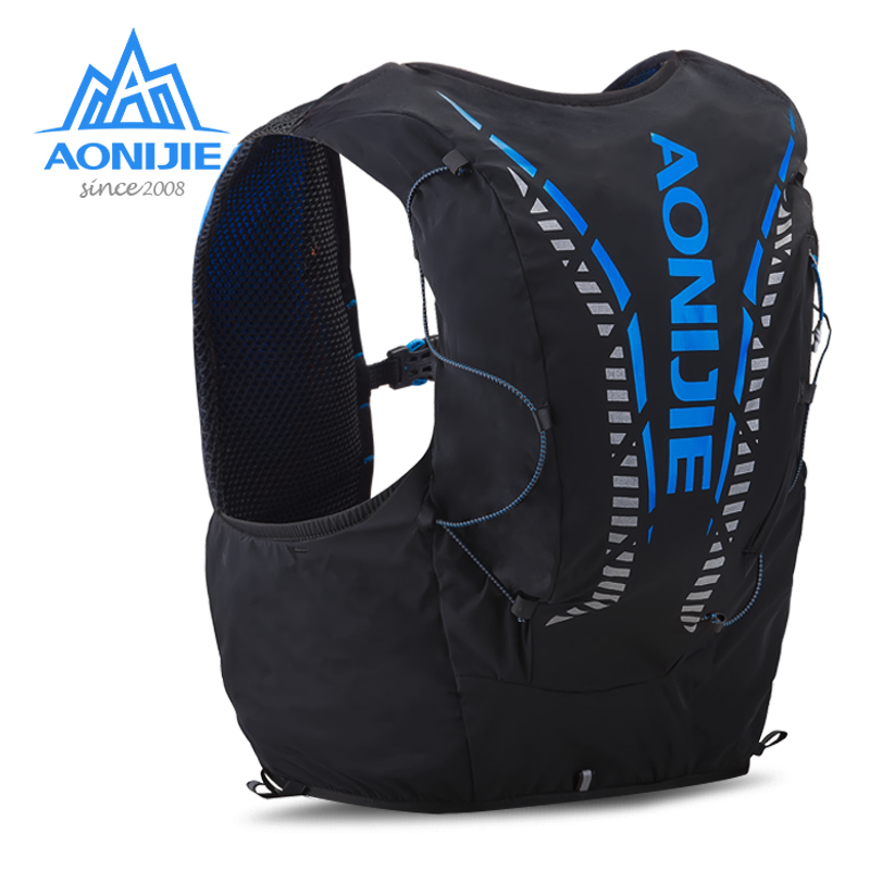 AONIJIE C962 Running Hydration Backpack Pack Bag Vest Soft Water Bladder Flask For Hiking Trail Cycling Marathon Race