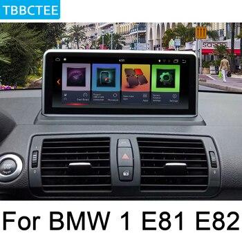 For BMW 1 E81 E82 2005~2012 Idrive Car Android Radio GPS Multimedia player stereo HD Screen Navigation Navi Media Map WIFI BT
