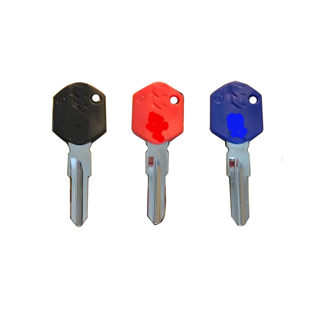 New motorcycle keys uncut blade blind key for KTM Duque 125, 250, 390, 690, 990 KTM250 EX250 KTM990 KTM690 KTM390 KTM125