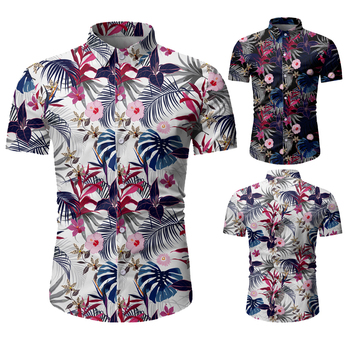 Men's Summer Short Sleeve Shirt Beach Shirts for Men High Quality Slim Fit Shirt Hawaiian Shirt Men Casual Shirt Button Up Shirt men shirt summer new casual slim fit short sleeve hawaii shirt quick dry printed beach shirt male top blouse hawaiian shirt men