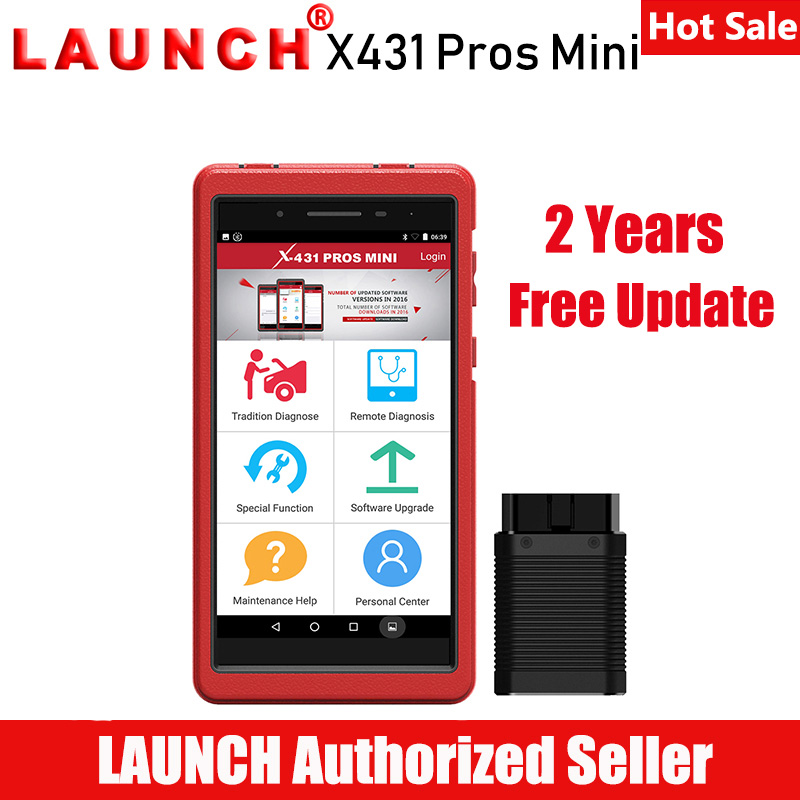 Launch X431 Pros Mini Automotive Diagnostic Tool Car Scanner ECU Coding All System Diagnostic Scan Tool