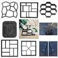 Бетонные формы для сада, дорожка, цементная форма со своими руками тротуарный кирпич, дорога, пластиковые формы скребок для рук шпатель форм...