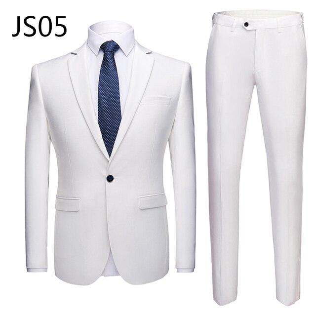 Мужской деловой костюм из 2 предметов фирменный Super Quality 5