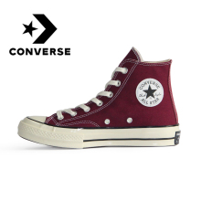 Original Converse All Star 1970s Women Skateboarding Shoes Men Sneakers Neutral Casual Footwear High-top Flat Light Comfortable