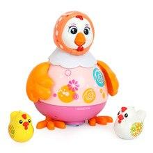 Отдел музыки 718, танцевальный Цыпленок, универсальные прогулочные музыкальные животные, Детские От 1 до 3 лет, электрические игрушки