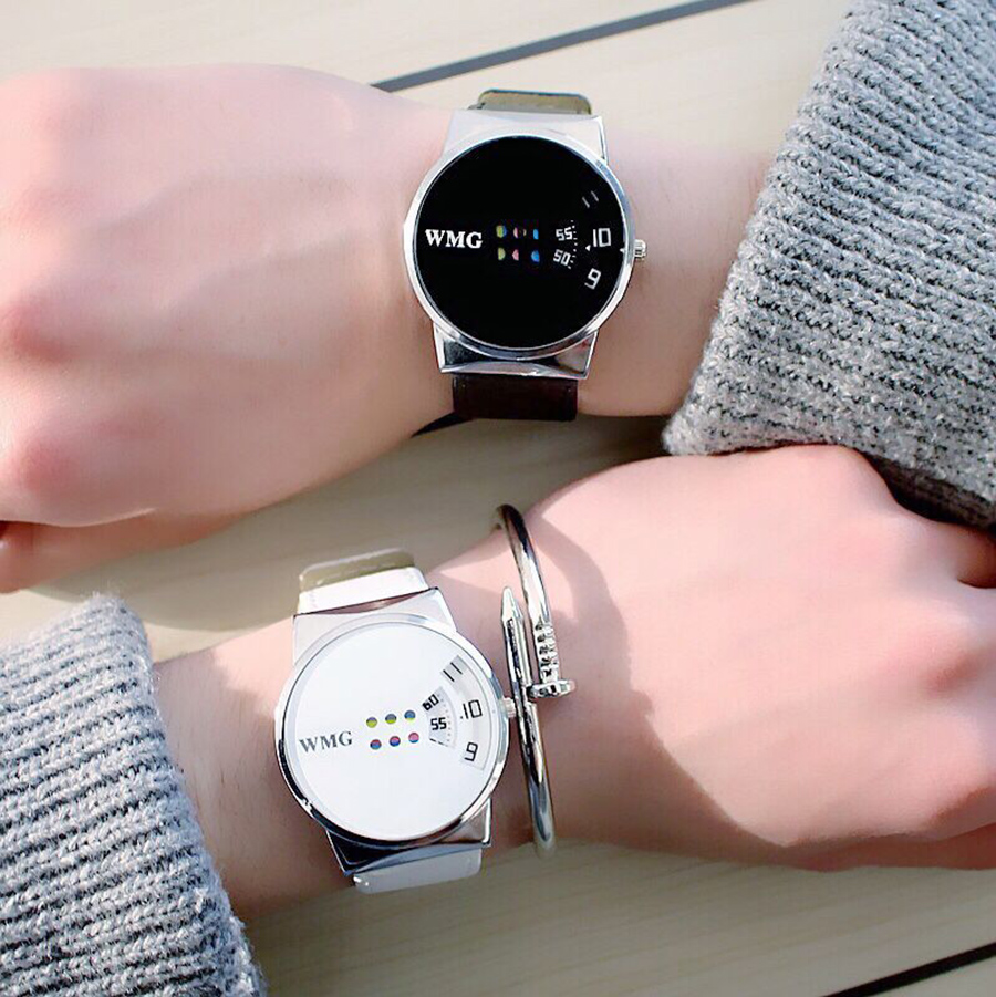 Simple Women Watches Ladies Casual Leather Quartz Men Watch Female Clock Relogio Feminino Montre Femme Zegarek Damski