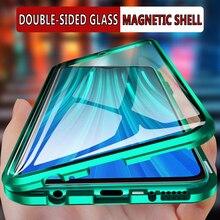 高級両面ガラス redmi 注 8 プロ耐衝撃カバー redmi 注 7 注 8 バンパー redmi 注 7 プロ電話ケース