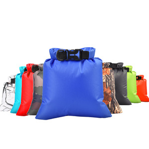 3L Nylon Portable Waterproof Dry Bag Pouch for Boating Kayaking Fishing Rafting Swimming Camping Rafting SUP Snowboarding