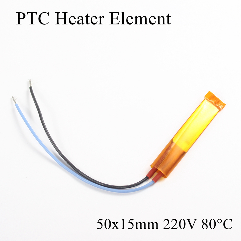 Chip Element Ptc-Heater Air-Heating-Plate 1pc 220V 80-Degree Ceramic Insulated-Thermistor