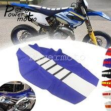 MX Motocross Enduro nervuré housse de siège pour TE125 TE250 TE300 FE350 FE450 TC FC TE-S WR TTR YZF pince de Traction housse de siège