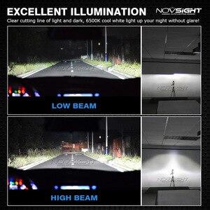 Image 4 - NOVSIGHT لمبات المصابيح الأمامية للسيارة led ، فائقة السطوع ، h7 ، h11 ، h1 ، h3 ، hb3 ، hb4 ، h8 ، h13 ، 9007 ، 72W ، 10000LM ، h4