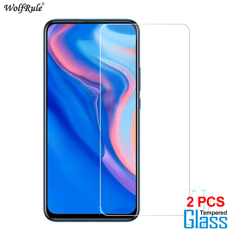 Image 2 - 2Pcs Protective Glass For Huawei Y7 2019 Y9 Prime 2019 Screen Protector Tempered Glass For Huawei P Smart Z Glass Phone Film-in Phone Screen Protectors from Cellphones & Telecommunications
