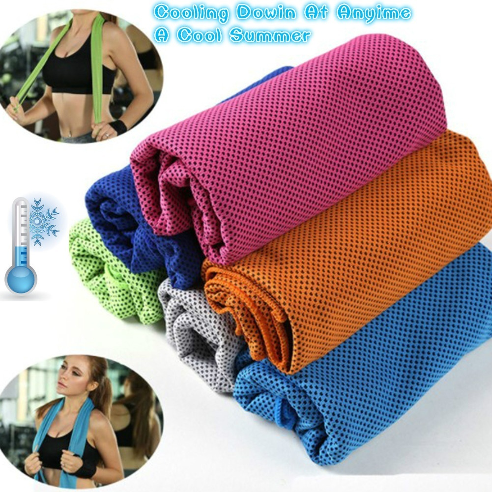 27*85 1 Pcs Golf Towel Survival Gear Cooling Towel For Sports, Workout, Fitness Gym Yoga Pilates Travel Camping & More