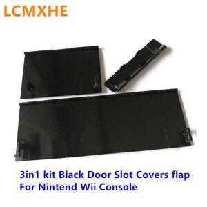 Image 5 - 高品質 3in1 キット 3 1 新 memeory カードドアスロットカバーフラップのふたで任天堂 wii コンソール修理交換部品