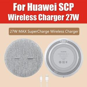 Image 3 - Huawei SuperCharge CP62 bezprzewodowa ładowarka stojak 40W pulpit CP61 AP61 CP60 CP39S CP37 ładowarka samochodowa P40 Pro + Mate 30 Pro P30 Pro