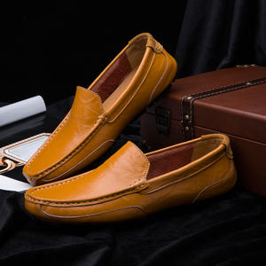 Men Loafers Moccasins Driving S-Shoes Italian Big-Size Casual High-Quality Fashion HC-249