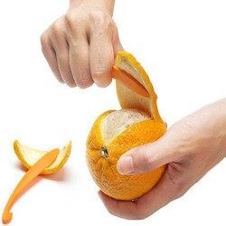 Novo laranja peelers zesters descascador dispositivo laranja descascando faca suco ajudante citrus abridor frutas vegetais ferramentas