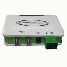 Оптический узел CATV, мини-приемник FTTH CATV, оптоволоконный WDM конвертер, триплексер, мини-режим с двумя радиочастотными портами