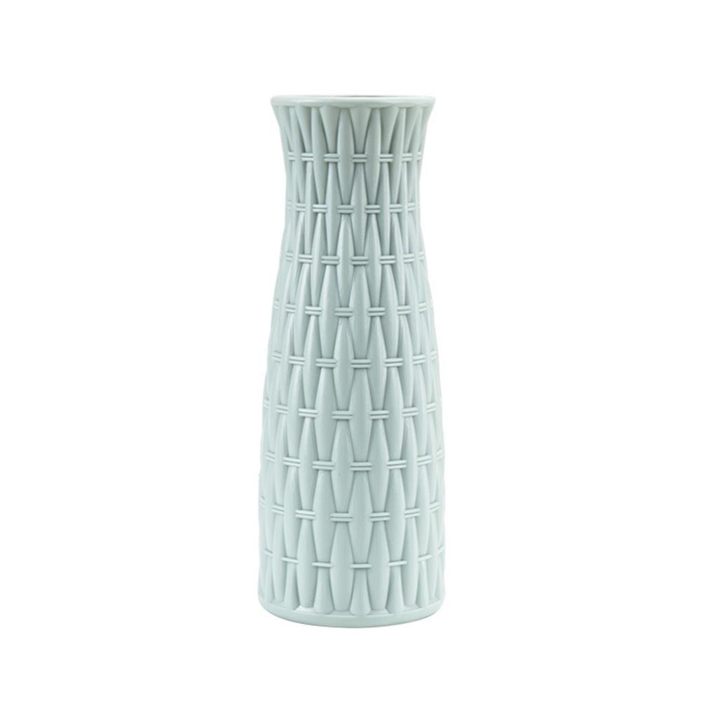 Скандинавском стиле Цветочная корзина ваза для цветов и рисунком в виде птичек-оригами Пластик ваза мини бутылка имитация Керамика украшение цветочный горшок для дома - Цвет: RL1267A