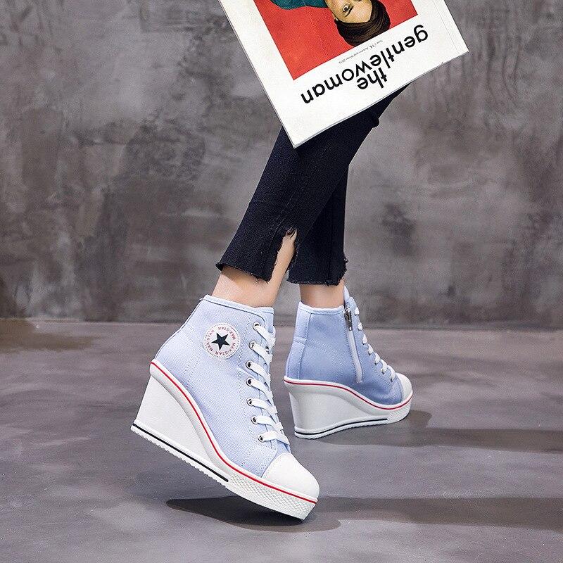 de alta qualidade tênis senhora outono calçados